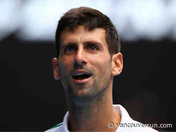 Novak Djokovic announces Balkan region series - Vancouver Sun