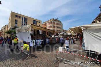 Emergenza Coronavirus finita. Il mercato di Adria finalmente al completo [VIDEO] - RovigoOggi.it