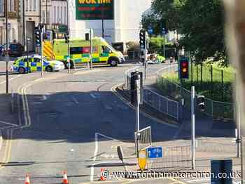 Air ambulance lands in Northampton after man injured by hit and run driver - Northampton Chronicle and Echo