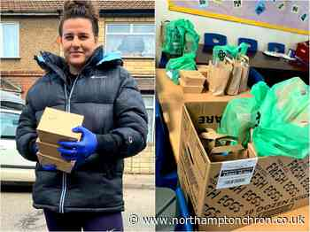 Northampton's champion boxer Chantelle Cameron fights to bring vital food parcels to families in lockdown - Northampton Chronicle and Echo