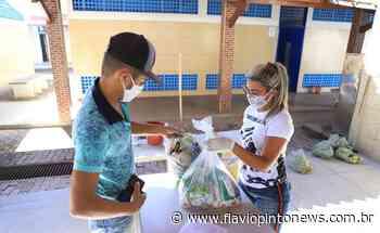 Mais de 25 mil pessoas em Juazeiro do Norte são beneficiadas com os Kits de alimentação escolar - Flavio Pinto