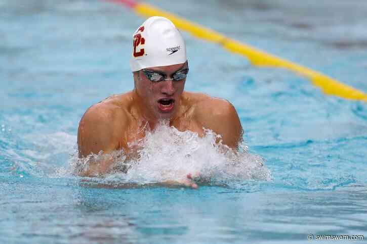 Breaststroker Mario Koenigsperger To Return To USC After Gap Year