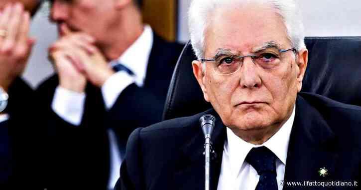 """Caos Csm, Mattarella: """"Non si scioglie a discrezione. Espressi già da molto tempo sconcerto e riprovazione. Una riforma è auspicata, ma tocca a partiti e Camere"""""""