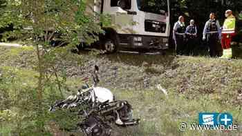 Hilchenbach: Motorradfahrer bei Kollision schwer verletzt - Westfalenpost