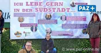"""Image-Kampagne - """"Ich lebe gern in der Südstadt"""": Plakat-Aktion des Runden Tisches - Peiner Allgemeine Zeitung - PAZ-online.de"""