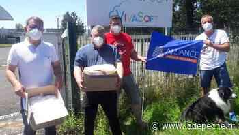 Albi. Don de masques FFP2 aux policiers du Tarn - ladepeche.fr