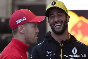 Ricciardo vede Vettel propenso a continuare in Formula 1 - ClubAlfa.it