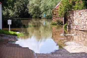 Hochwasserschutz: Lösung für Hauptstraße ist da - Volksstimme