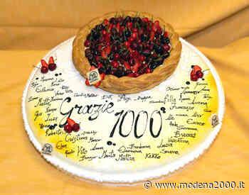Santa Maria Reggio Emilia: una torta per ringraziare la Lungodegenza e 100 uova di cioccolato per la Pediatria - Modena 2000