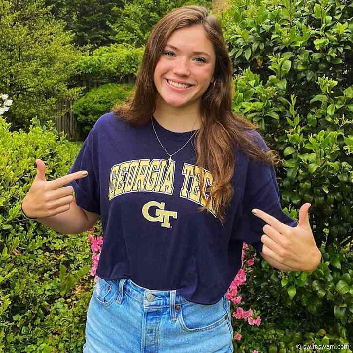 SwimAtlanta Sprinter Sarah Livingston Verbals to Georgia Tech for 2021