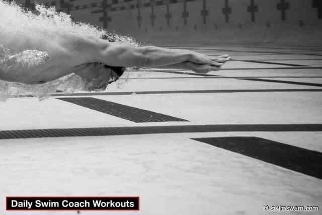 Daily Swim Coach Workout #107