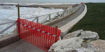 Mareggiate a Grottammare, al via la progettazione per riparare i danni alla balconata - La Nuova Riviera