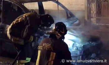 Grottammare, auto a fuoco nella notte a due passi dalla Statale 16 - La Nuova Riviera