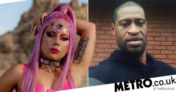 Lady Gaga postpones Chromatica listening party and urges fans to 'raise your voice' after George Floyd's death