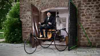 Ladenburg: Vermächtnis von Carl Benz: Das ist die erste Auto-Garage der Welt - BILD