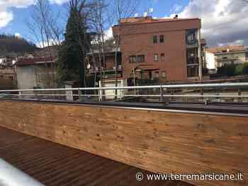 Il sindaco di Carsoli annuncia l'apertura dei due ponti di legno sul fiume Turano - Terre Marsicane