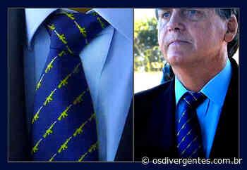O estilo Bolsonaro – Uma gravata de acordo com seu discurso sobre a crise - Os Divergentes