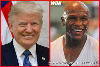 Donald Trump said Floyd Mayweather was 'beaten up badly' in 'fix' victory - WBN - World Boxing News