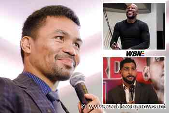 Manny Pacquiao has earned the right to pick his fights – Floyd Mayweather - WBN - World Boxing News