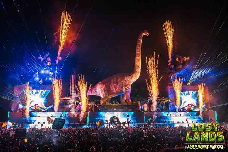 Excision Teases 'Lost Lands: Couch Lands' Series Stage & Holy Sh*t!