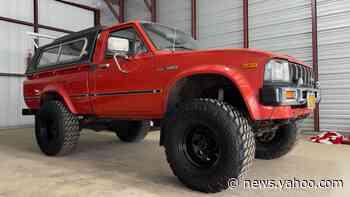 eBay Find: Unrestored 1980 Toyota Hilux Survivor