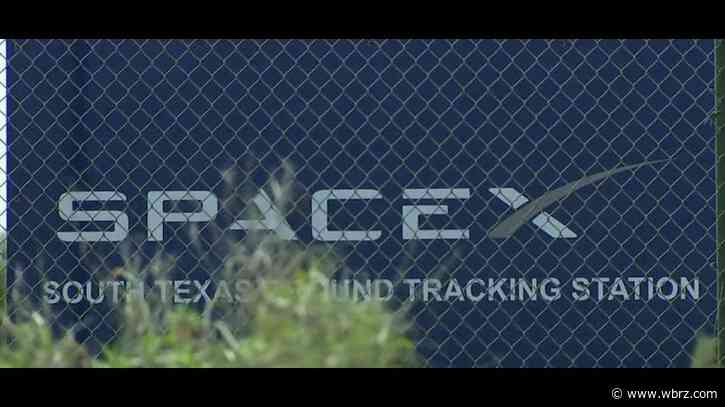 Crews working to put out fire at SpaceX site in Texas