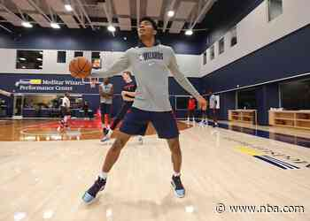 Wizards begin individual voluntary workouts at MedStar Wizards Performance Center