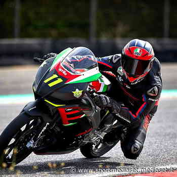 Debutto in pista per l'Aprilia RS 250 SP con Marcon - Sportmediaset - Sport Mediaset