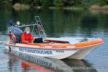 Rettungstaucher im Raum Freiburg verbinden Ehrenamt und Hobby - Kreis Breisgau-Hochschwarzwald - Badische Zeitung