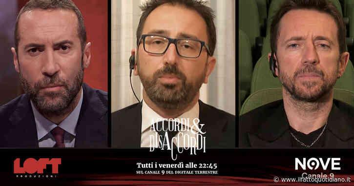 """Caos procure, Alfonso Bonafede ad Accordi&Disaccordi (Nove): """"Salvini? Facendo cadere governo ha bloccato riforma del Csm"""""""