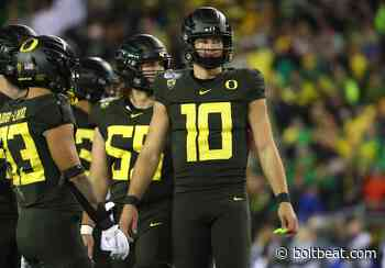 Best and worst-case recent comparisons for Justin Herbert