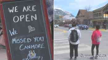 Canmore closing portion of main street to cars to make room for pedestrians - CBC.ca