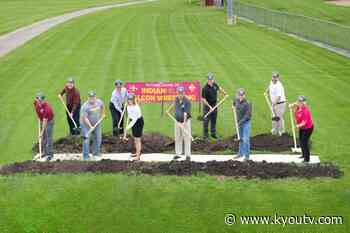 IHCC breaks ground for the Indian Hills Wrestling practice facility - KYOU