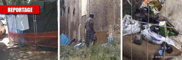 """Nella maxi favela dei migranti """"Qui dentro siamo tutti drogati"""""""