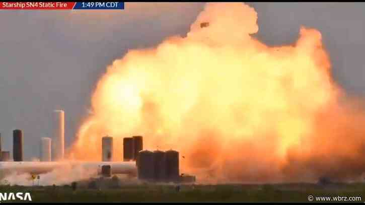 SpaceX prototype engine explodes during test at Texas site
