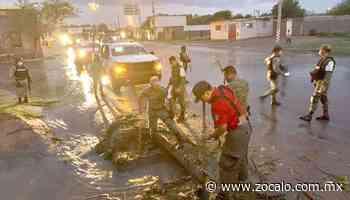 Azota granizada en Nueva Rosita [Coahuila] - 27/05/2020 - Periódico Zócalo