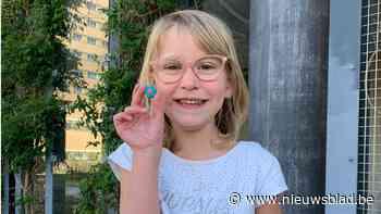 Kankerpatiëntje Leanne (5) eindelijk uit 'quarantaine' van t... (Zedelgem) - Het Nieuwsblad