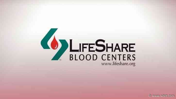 LifeShare Blood Center offering free antibody testing for blood donors