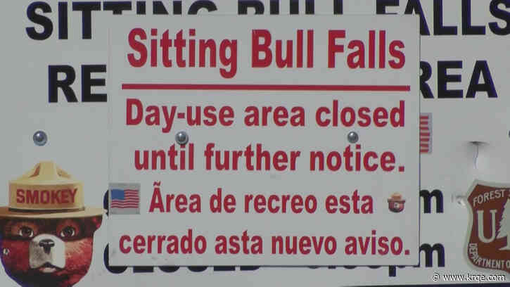 Influx of visitors causes Sitting Bull Falls to close
