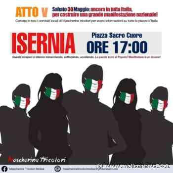 Isernia, sabato 30 maggio le mascherine tricolori tornano in piazza del Sacro Cuore - Molise News 24