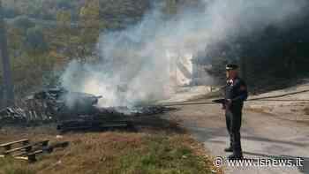 Incendiò un'area di 400 mq a Isernia: 60enne pensionato scoperto dalla Forestale - isnews