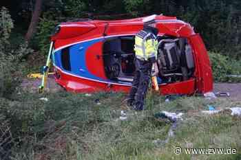 Tödlicher Unfall in Remseck: Sportwagen Lotus Elise kommt von der Fahrbahn ab - Blaulicht - Zeitungsverlag Waiblingen