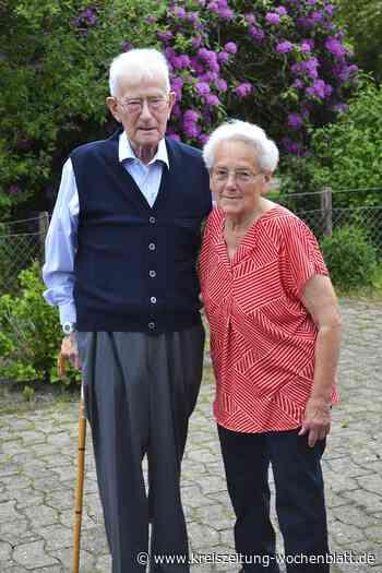 Seit 65 Jahren verbunden: Ehepaar Haack in Tostedt hat heute eiserne Hochzeit - Tostedt - Kreiszeitung Wochenblatt