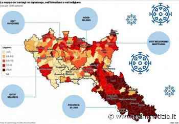 ++L'incidenza del virus nella mappa di Ats: Abbiategrasso, Inveruno e Legnano ad alto contagio++ | Ticino Notizie - Ticino Notizie