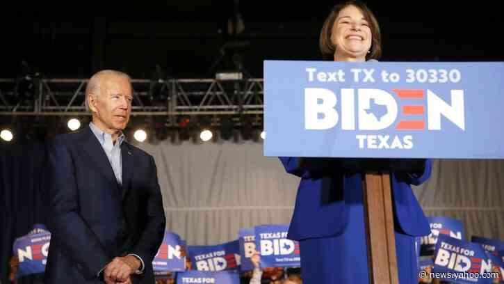 Team Biden on Klobuchar: 'We Need to Avoid Her'