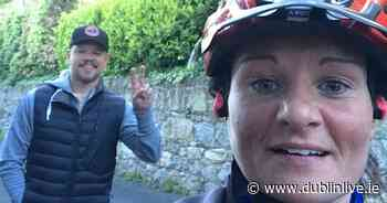 Matt Damon super fan has day made as she meets Hollywood actor during Killiney bike ride - Dublin Live