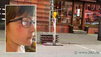 Radebeul: Lilly (8) gestürzt! Strippenzieher spannt Seil auf Fußweg - BILD