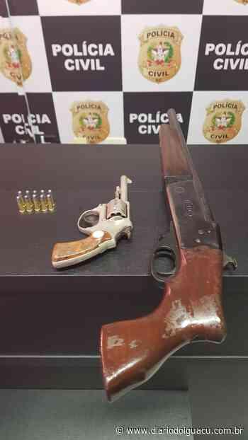 Polícia Civil prende casal em flagrante com arma em Pinhalzinho - Portal DI Online