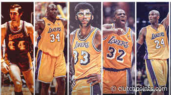 Los Angeles Lakers' retired numbers - ClutchPoints