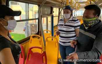 El servicio de buses en Ibarra se reanudará con toda la flota vehicular